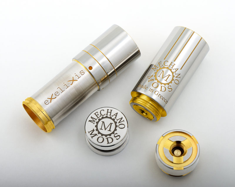 Mechano Mods New Golden Exelixis