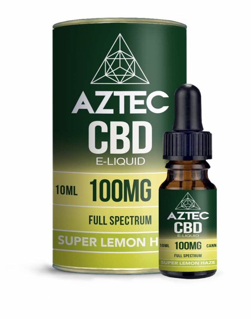 Aztec CBD Lemon E-Liquid 10ml