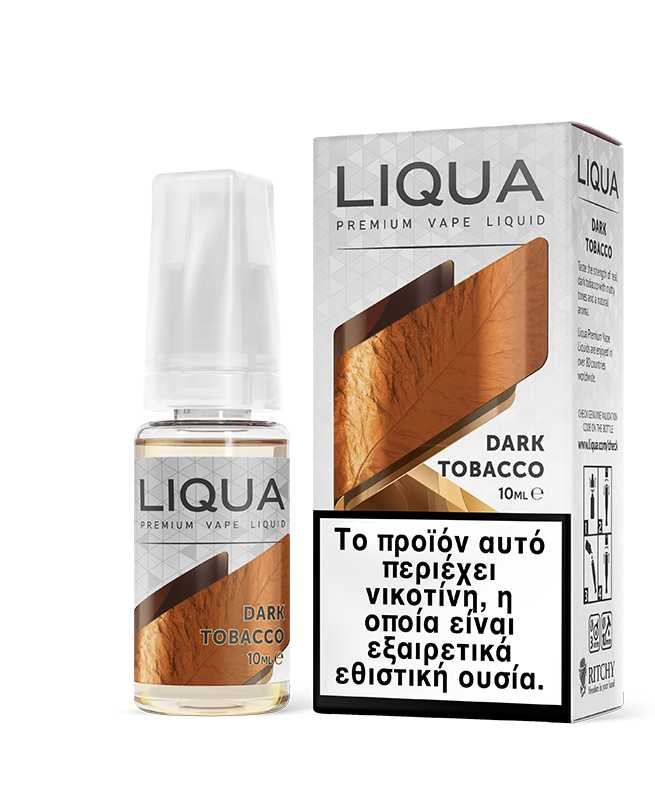 NEW DARK TOBACCO 10ML BY LIQUA
