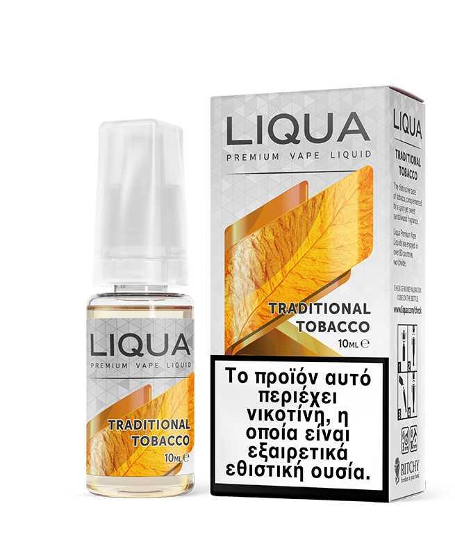 NEW TRADITIONAL TOBACCO 10ML BY LIQUA