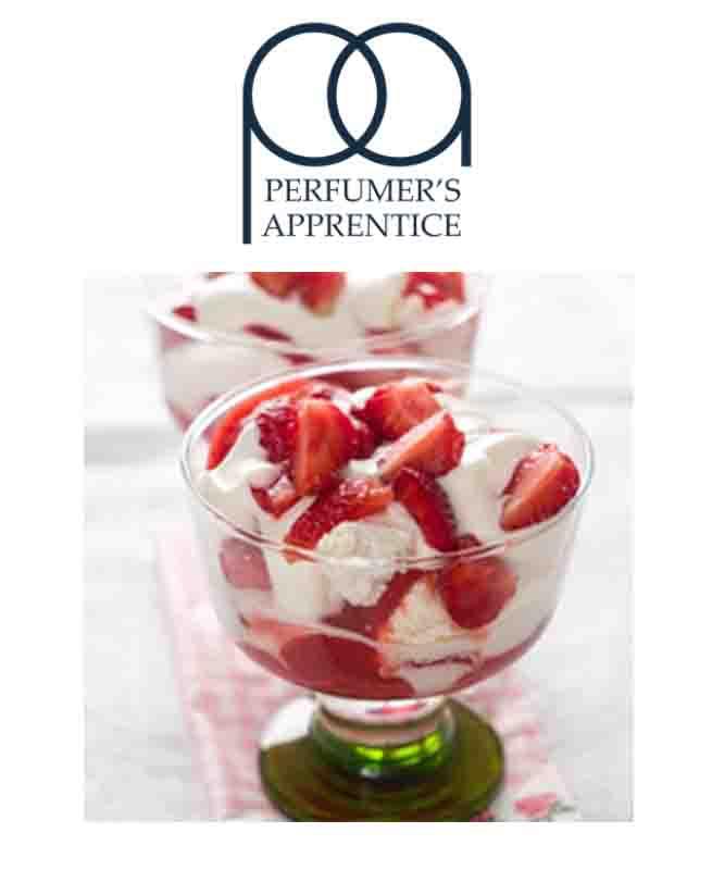 Strawberries And Cream άρωμα (Φράουλα-κρέμα) by TPA