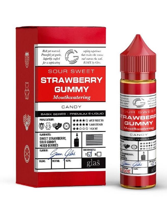 STRAWBERRY GUMMY BASIX SERIES by Glas